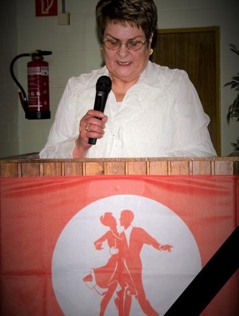 Wir trauern um Unsere Ehrenvorsitzende, Elfriede Hoffmann.
